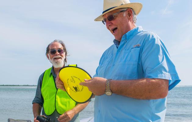 Shorebird Steward Training at Harbor Island