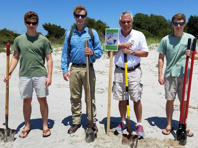 Creativity and conservation keynote Sullivan's Island shorelines