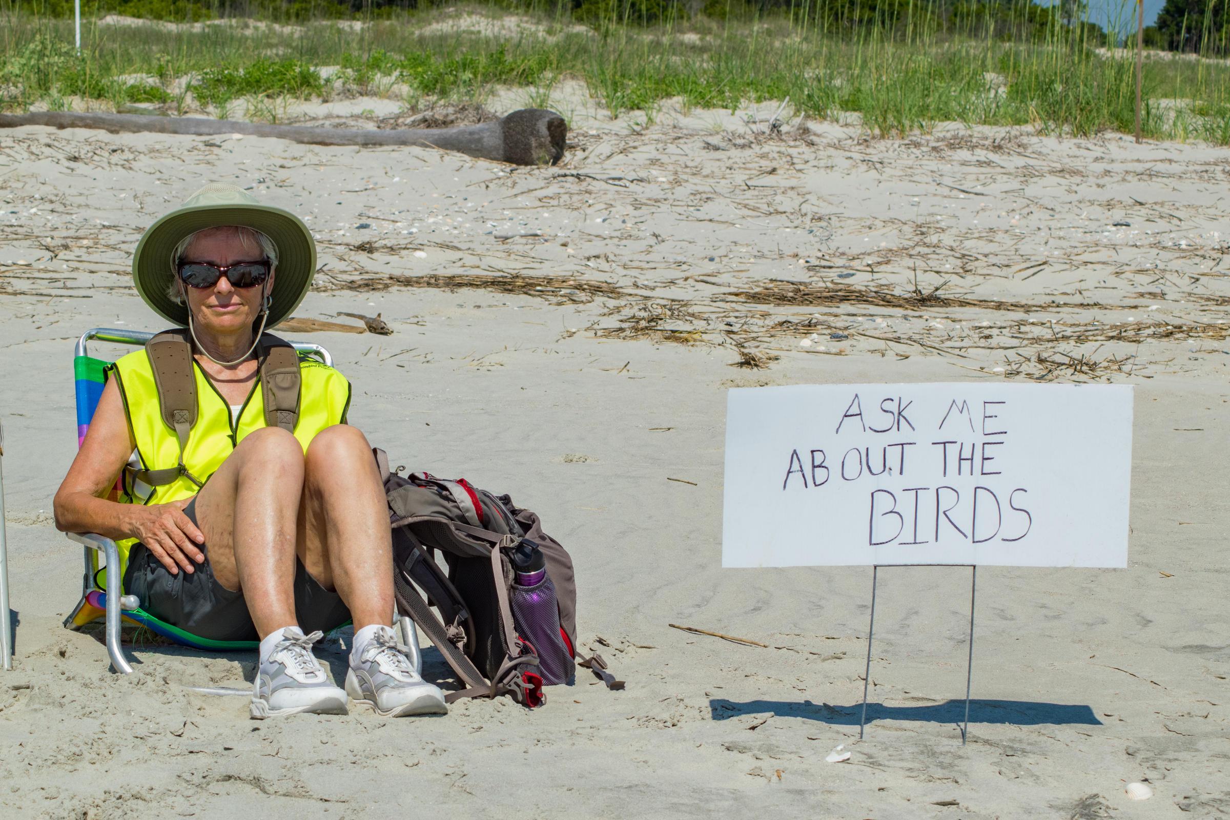 Volunteer Steward Dewees Island2