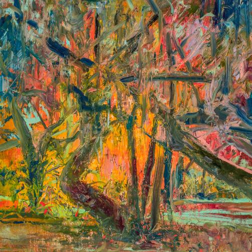 Award-winning artist Mary Edna Fraser finds immersive inspiration